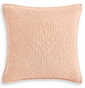 Hotel Collection Classic Roseblush Quilted European Sham, Created for Macy's Bedding