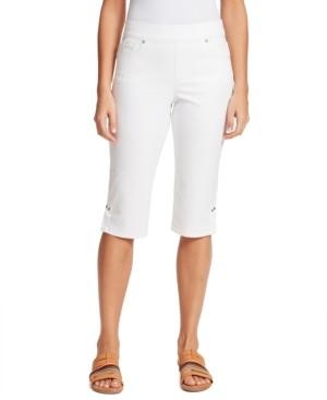 Gloria Vanderbilt Petite Avery Pull-On Skimmer Jeans