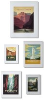 DENY Designs 'National Parks' Wall Art Gallery (Set of 5)