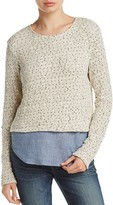 Generation Love Layered-Look Sweater