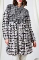 Chanel F/W 2010 Grey & Pink Boucle Coat