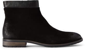 English Laundry Black Brodie Suede Ankle Boots