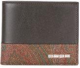 Etro printed bi-fold wallet