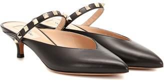 Valentino Garavani Rockstud leather mules