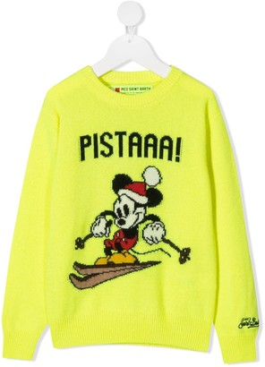 Mc2 Saint Barth Kids Mickey Pista jumper