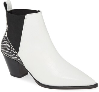 Ted Baker Rilanic Reptile Embossed Chelsea Bootie