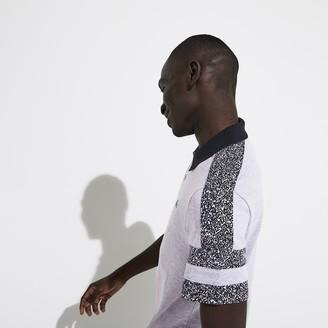 Lacoste Men's SPORT Print-Blocked Lightweight Polo