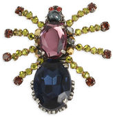 Miriam Haskell Large Spider Mixed Stone Pin