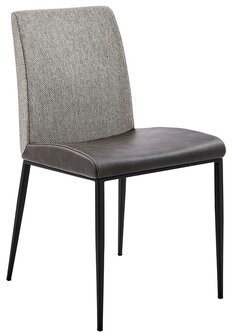 Euro Style Rasmus Side Chair Eurostyle Upholstery Color: Dark Gray