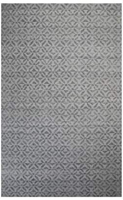 Pottery Barn Tullia Recycled Material Indoor/Outdoor Rug - Gray Multi