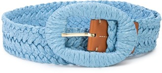 Altuzarra Braided Buckle Belt