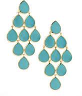 Ippolita 18k Rock Candy Cascade Earrings in Turquoise