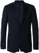 Lardini pointed lapels suit jacket - men - Polyester/Cupro/Viscose/Wool - 46