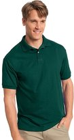 Hanes Cotton-Blend Men`s Jersey Polo, 054X, M