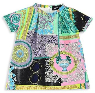 Versace Baby Girl's Baroque Shift Dress