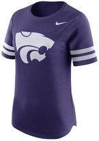 Nike Women's Kansas State Wildcats Gear Up Modern Fan T-Shirt