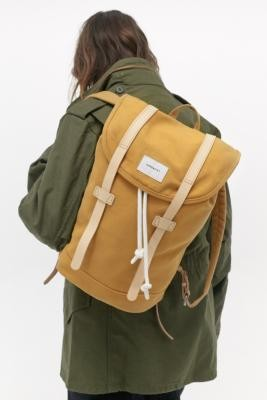 SANDQVIST Stig Mini Yellow Backpack - Yellow ALL at Urban Outfitters