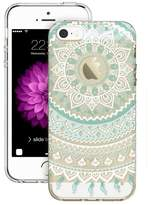 Qissy® TPU colorful stripe Pattern Silicone Case Back Cover Skin Protector for iPhone 5/5S/SE