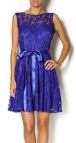 Sally Royal Lace Dress