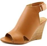 Report Columba Women Open Toe Synthetic Tan Wedge Sandal.
