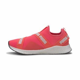Puma Unisex Adults' Nrgy Star Slip-on Running Shoes Black Black White 01 8 UK 42 EU