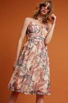 Maeve Mackenzie Floral Dress, Neutral