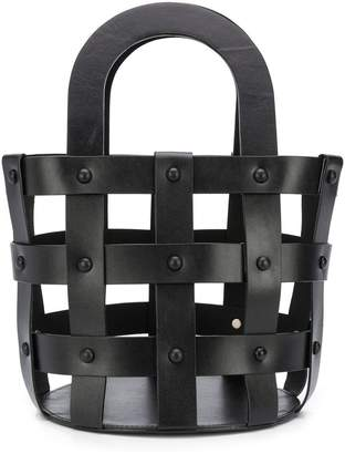 Building Block Caged tote bag