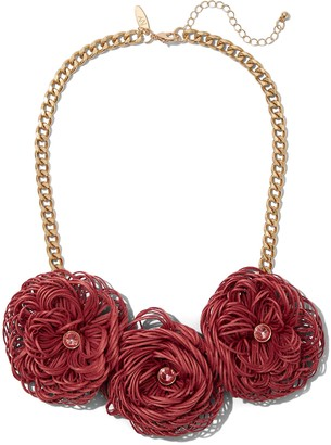 New York & Co. Floral Statement Necklace