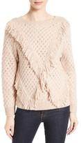 Rebecca Taylor Women's Fringe Pullover