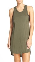 Leith Women's Racerback Cover-Up Tank Dress