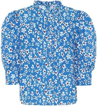 Rixo Mandy floral cotton top