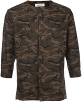 Monkey Time Concealed Placket Shirt