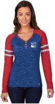 Majestic Women's Long-Sleeve New York Rangers Pure Fury T-Shirt