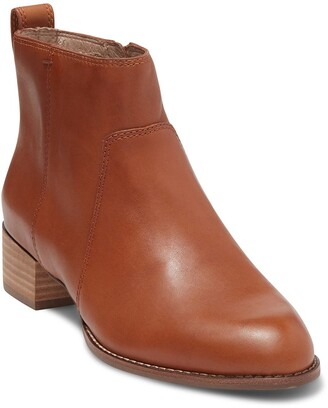 Madewell Camden Leather Ankle Bootie