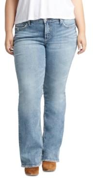 Silver Jeans Co. Trendy Plus Size Elyse Bootcut Jeans