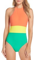 Diane von Furstenberg Women's Halter One-Piece Swimsuit