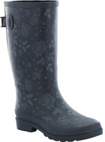 Western Chief Women's Wide Fit Feminine Floral Rain Boot