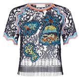 Peter Pilotto Embroidered Lace T-Shirt