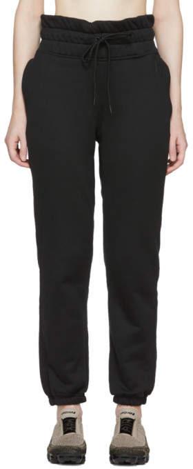 Nike Black NRG FLC Lounge Pants