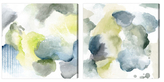 Oliver Gal Mossy Mornings (Canvas) (Set of 2)