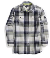 Tommy Hilfiger Final Sale- Cotton Linen Camp Shirt