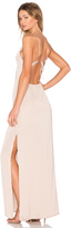 Capulet Deep V Maxi Dress