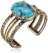 Barse Jubilee Turquoise and Copper Cuff Bracelet
