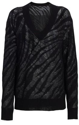 Rag & Bone Germain Zerba V-Neck Sweater