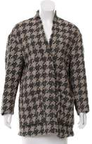 Isabel Marant Patterned Wool-Blend Cardigan