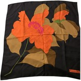 Christian Dior Orange Silk Silk handkerchief