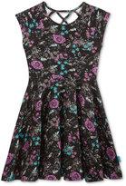Roxy Floral Pattern Dress, Big Girls (7-16)