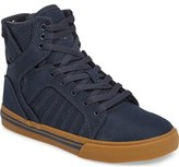 Supra 'Skytop' High Top Sneaker (Toddler, Little Kid & Big Kid)