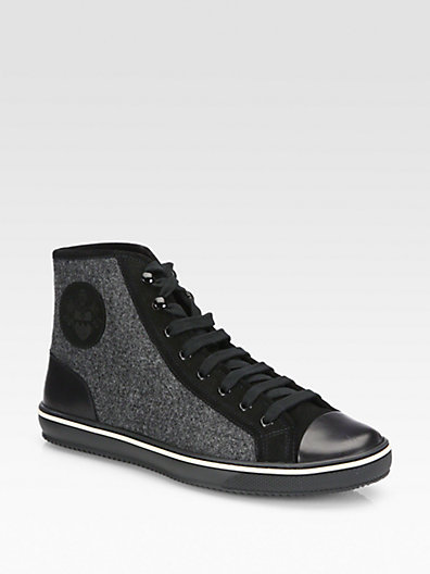 Bally Oshean Lace-Up Sneakers