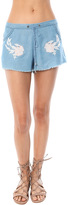 RahiCali Distressed Short